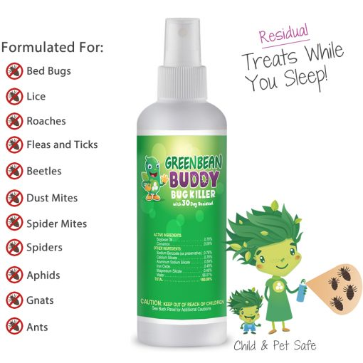 Green Bean Buddy bug killer 3oz