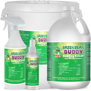 Green Bean Buddy, Bed Bug Treatment Sprays