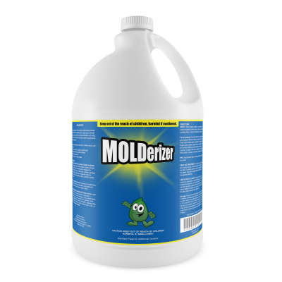 No Bleach, Mold Stain Remover & Brightener, Molderizer – 1 Gallon (120 oz)