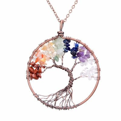 Tree Of Life Copper Necklace