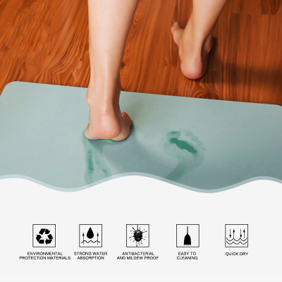 Magical Diatomite Bathroom Mat