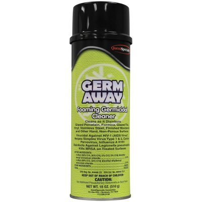 Foaming Germicidal Cleaner, 8oz Aerosol
