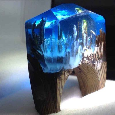 Enlightened Caverns Of Mystery, Hand Crafted Ring