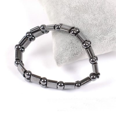 Hand Crafted Magnetic Hematite Crystal Healing Bracelet For Men and Women