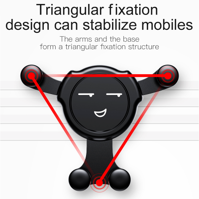 Emoji Gravity Car Mount For Your Phone