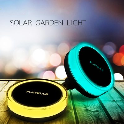 Solar Powered Bluetooth Smart Outdoor LED Lights