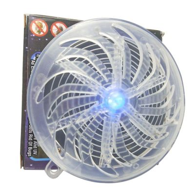 Solar Power UV Insect Zapper For Bed Bugs, Mosquitoes, Roaches, and Other Pests