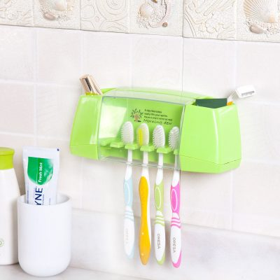 Bathroom Toothbrush Storage Kit