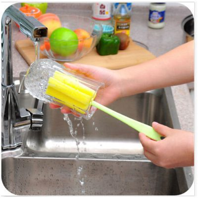 Baby Bottle Brush and Glassware Cleaner, 1 piece