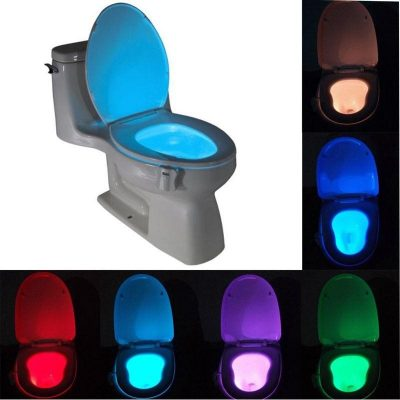 Smart Motion Bathroom Toilet LED Lamp