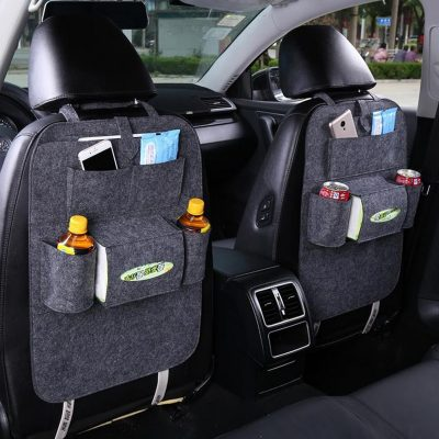 Back Seat Storage Pack and Travel Unit