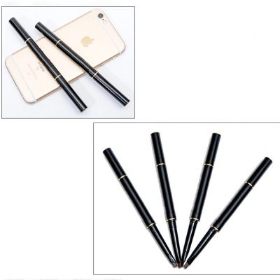 2-in-1 Brow Brush and Pencil, 1 Pencil