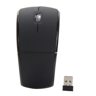 Wireless 2.4G Foldable USB Mouse for Laptop or Computer