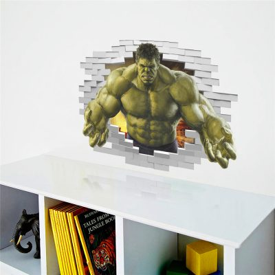 3D Hulk Wall Sticker