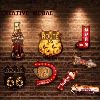 Vintage LED Neon Signs for Bars, Home, or Cafes