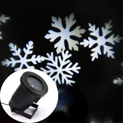 Christmas Animated Snowflake Laser Light Projector