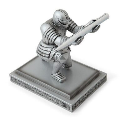 Armored Knight Pen Stand, Executive Gift Set