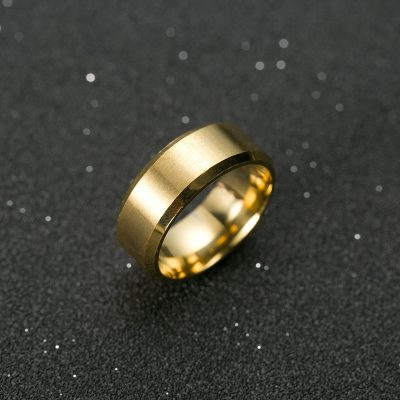 Titanium Mens Ring of Power and Drive