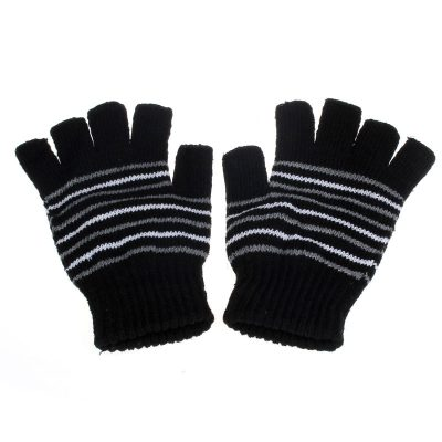 USB Heated Fingerless Gloves