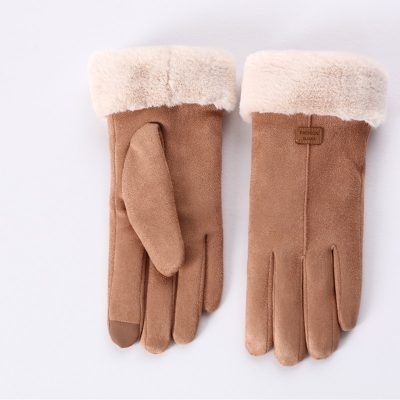 Designer Cashmere Winter Gloves