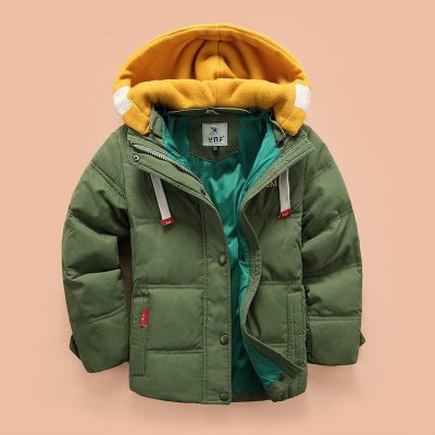 Adorable Winter Parka for Little Boys