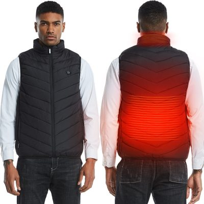 One Touch Electric Heated Vest for Men