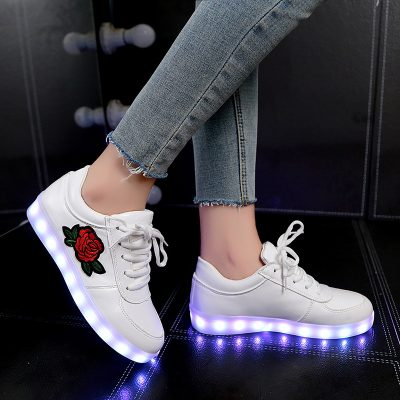 Luminous LED Glowing Sneakers