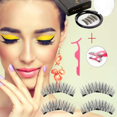 Magnetic Natural Lashes with Applicator
