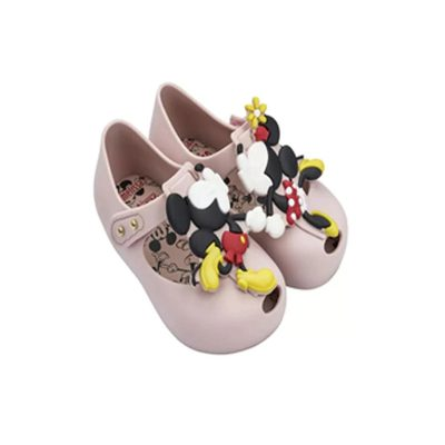 Mini Melissa Mickey and Minnie Jelly Shoes for Kids