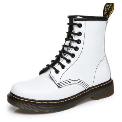 Women Genuine Leather Boots Shoes For Winter