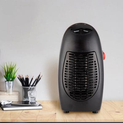 Portable Electric Space Heater 400 Watt