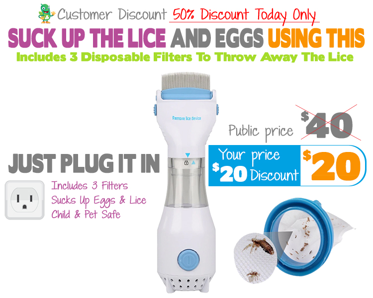 Electric Lice Comb Add On